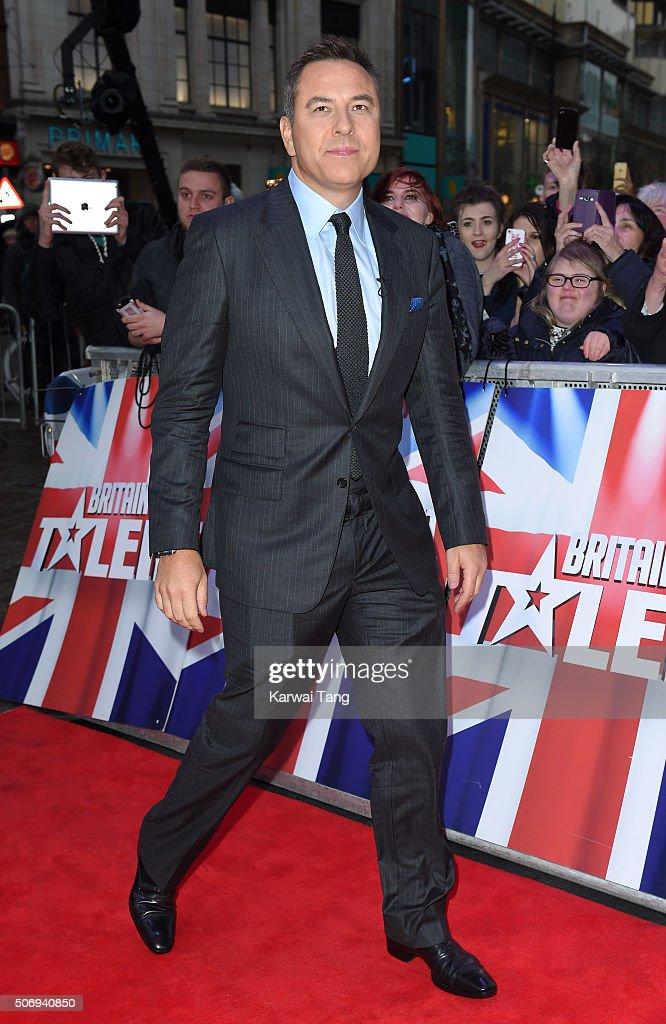 """""""Britain's Got Talent"""" - London Auditions - Red Carpet Arrivals"""