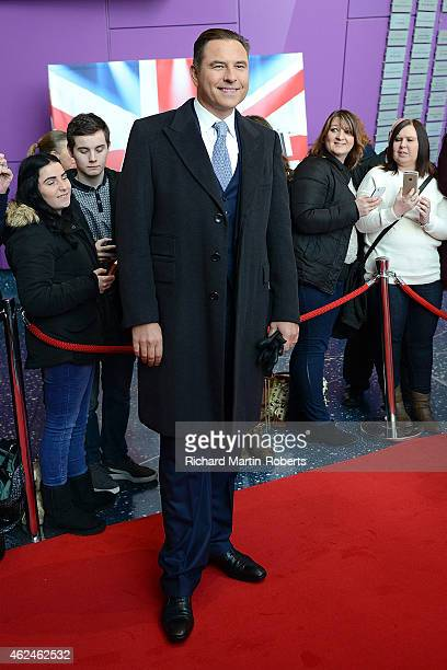 David Walliams attends the Manchester auditions for Britain's Got Talent at The Lowry on January 29 2015 in Manchester England