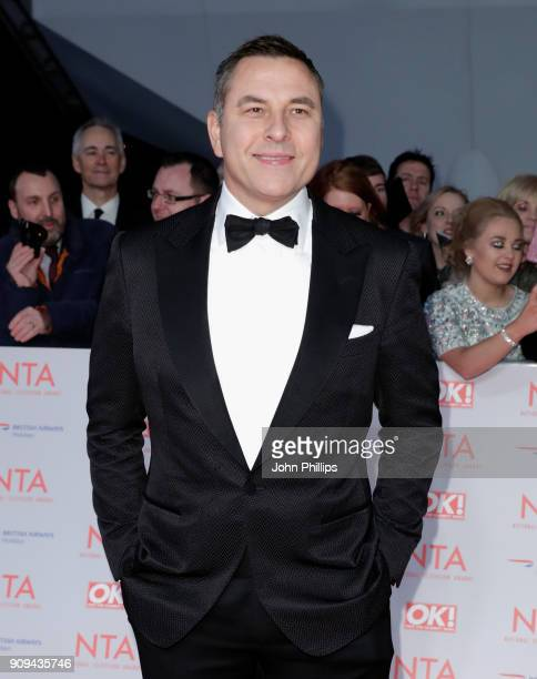 David Walliams attends the National Television Awards 2018 at the O2 Arena on January 23 2018 in London England