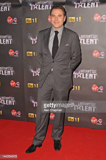 David Walliams attends the prefinal party of Britain's Got Talentsponsored by Virgin Media at Banqueting House on May 11 2012 in London England