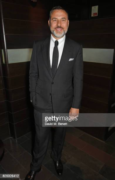 David Walliams attends the press night after party for 'David Walliams' Gangsta Granny' at The Mint Leaf on August 1 2017 in London England