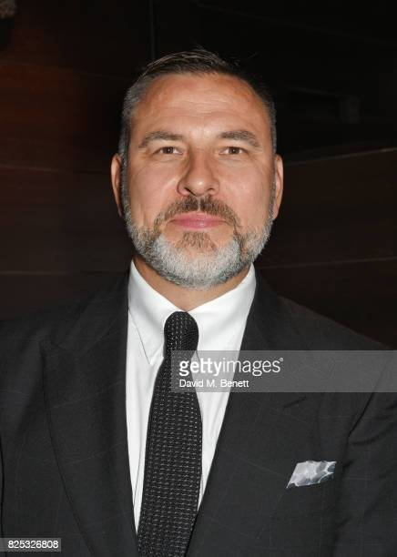 David Walliams attends the press night after party for David Walliams' Gangsta Granny at The Mint Leaf on August 1 2017 in London England