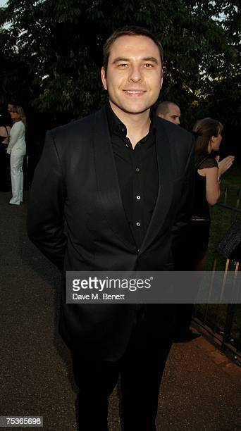 David Walliams attends the Serpentine Summer Party at The Serpentine Gallery on July 11 2007 in London England