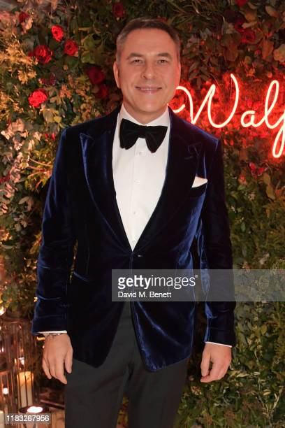 David Walliams attends the Walpole British Luxury Awards 2019 at The Dorchester on November 18 2019 in London England