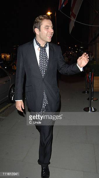 David Walliams during London Fashion Week Spring/Summer 2006 Burberry Party in London Great Britain