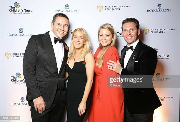 David Walliams, Ellie Goulding,Holly Candy & Nick Candy hosted evening of fundraising at the Tower of London on Monday 2 November 2015, in aid of The...