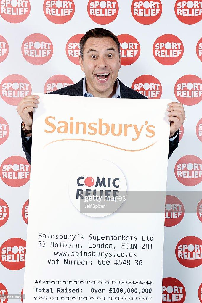 Sainsbury's Sport Relief Photo call