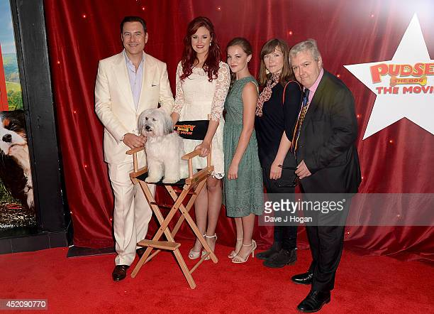 David Walliams Pudsey Ashleigh Butler Izzy MeikleSmall Jessica Hynes and John Sessions attend the World Premiere of 'Pudsey The Dog The Movie' at Vue...