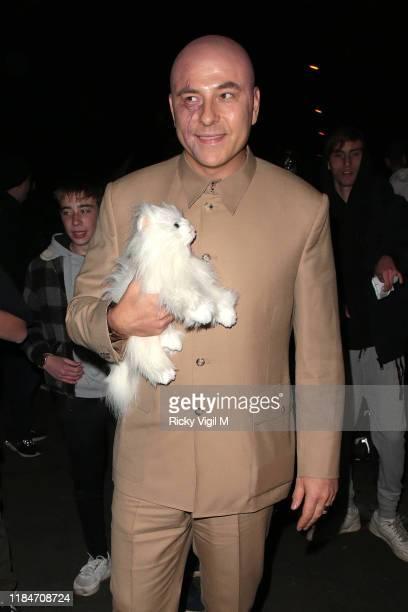 David Walliams seen attending Jonathan Ross's Halloween party on October 31 2019 in London England