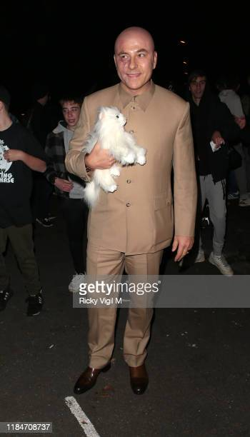 David Walliams seen attending Jonathan Ross's Halloween party on October 31 2019 in London England