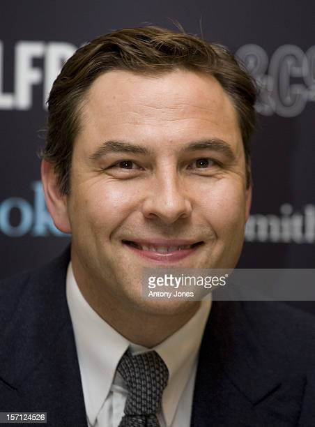 David Walliams Signs Copies Of His Book 'Billionaire Boy' At Selfridges