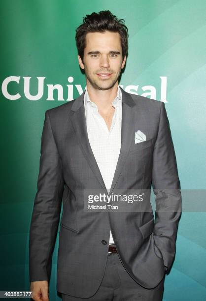 David Walton arrives at the NBC/Universal 2014 TCA Winter press tour held at The Langham Huntington Hotel and Spa on January 19 2014 in Pasadena...