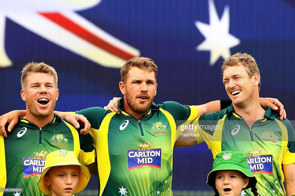 Australia v England: Carlton Mid ODI Tri Series - Final