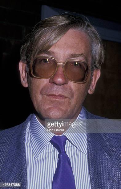 David Warner attends John Huston Memorial Service on September 12 1987 at the Directors Guild Theater in Hollywood California