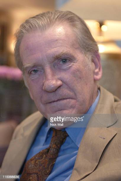 David Warner during The Times BFI London Film Festival 2003 'Kiss of Life' at Odeon West End in London Great Britain