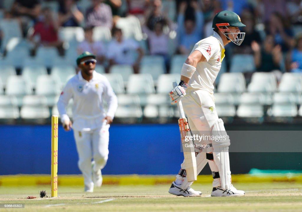 South Africa v Australia - 3rd Test: Day 2