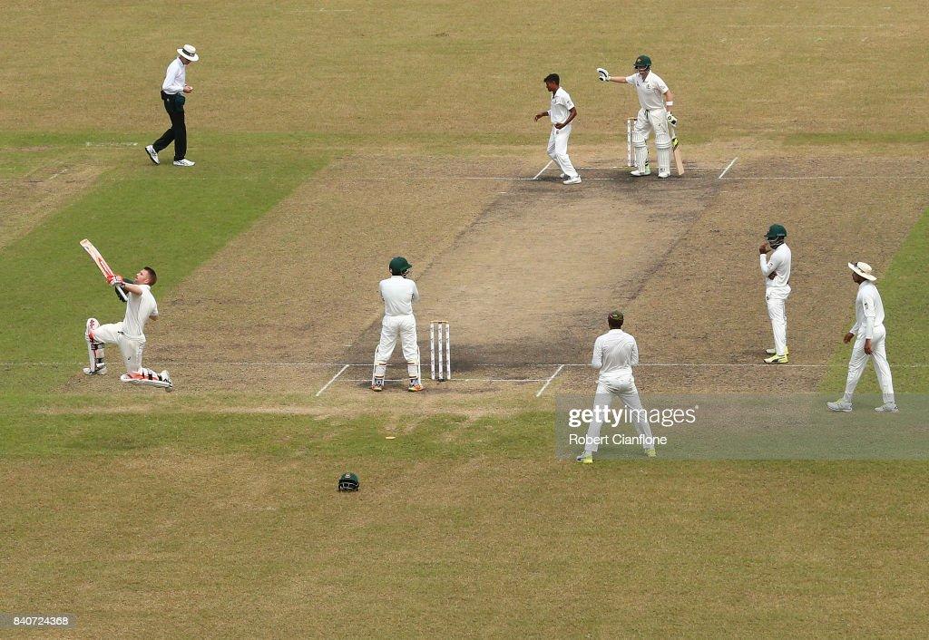 Bangladesh v Australia - 1st Test: Day 4 : News Photo