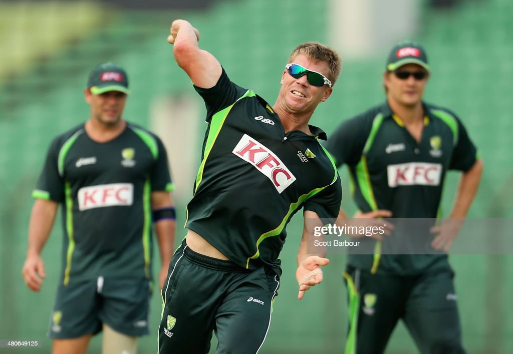 Australia Training - ICC World Twenty20 Bangladesh 2014