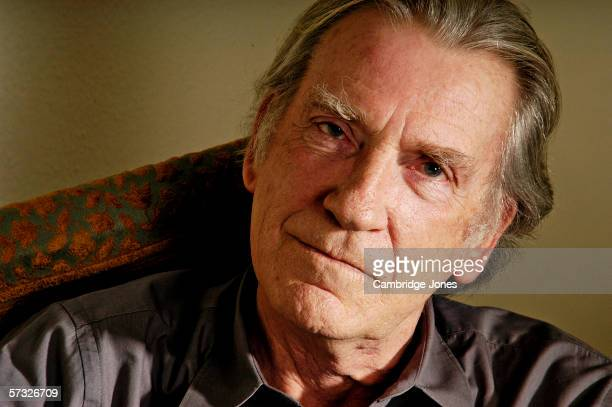 David Warner poses during a photo call held on January 7 2005 at his home in London England