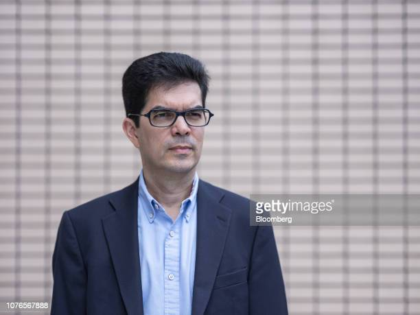 David Webb an activist investor and editor of WebbSitecom poses for a photograph in Hong Kong China on Monday Dec 3 2018 Webb has amassed a fortune...