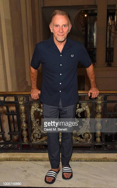 David Webb attends the press night after party for 'King Lear' at No11 Carlton House Terrace on July 26 2018 in London England