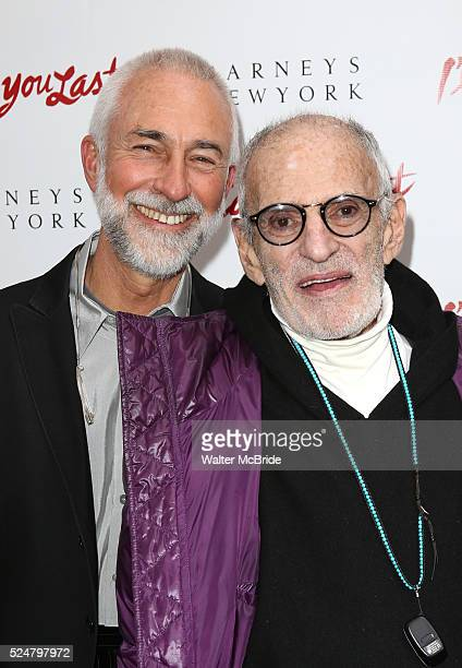David Webster Larry Kramer attending the Broadway Opening Night Performance of 'I'll Eat You Last' at the Booth Theatre in New York City on 4/24/2013
