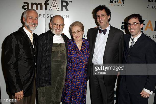David Webster Larry Kramer Dr Mathilde Krim Tony Kushner and Mark Harris