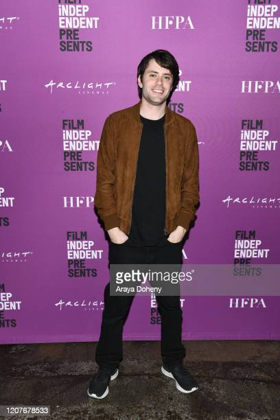 """David Weil at Film Independent Screening Series Presents """"Hunters"""" at ArcLight Culver City on February 20, 2020 in Culver City, California."""