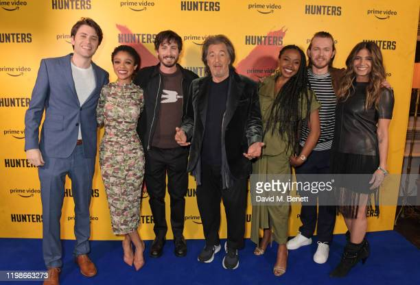 David Weil Tiffany Boone Logan Lerman Al Pacino Jerrika Hinton Greg Austin and Nikki Toscano attend a screening and QA for Amazon Prime Video's...