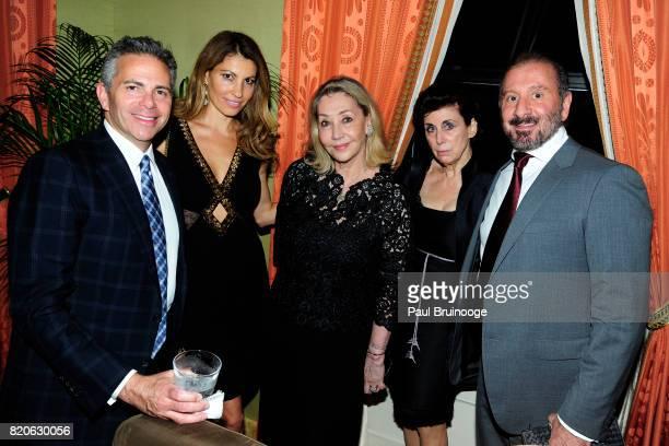David Weinreb Ana Laspetkovski Susan Gutfreund Judith M Hoffman and Ralph Rucci attend Youth America Grand Prix Jewels 50th Anniversary Celebration...