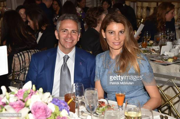 David Weinreb and Ana Laspetkovski attend Alzheimer's Drug Discovery Foundation's Ninth Annual Fall Symposium Luncheon at the Pierre Hotel on...