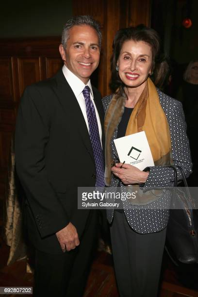 David Weinreb and Mary Ann Tighe attend The Pershing Square Foundation 10th Anniversary Celebration at Park Avenue Armory on June 5 2017 in New York...
