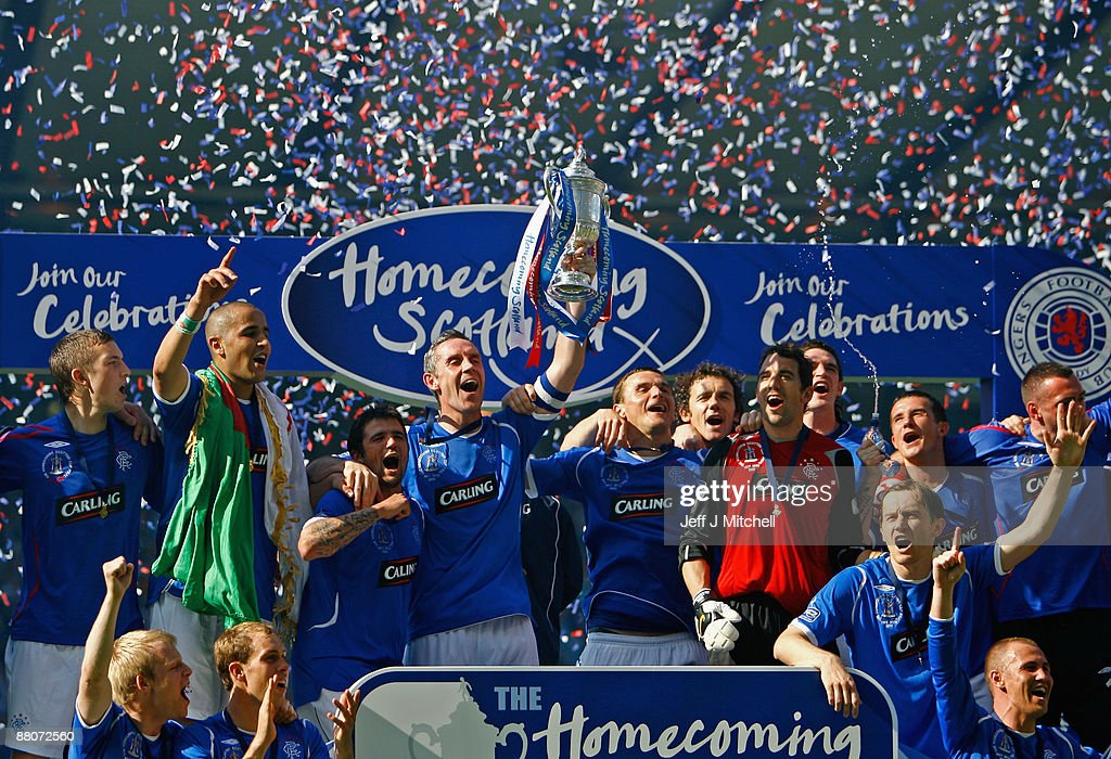 Rangers v Falkirk - Scottish FA Cup Final : News Photo