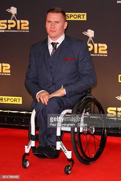 David Weir arrives at the Excel Centre in London for the BBC Sports Personality of the Year Awards 2012 , London. 16 December 2012 June 2012 ---...
