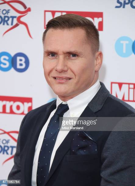 David Weir attends the Pride of Sport awards at Grosvenor House on November 22 2017 in London England