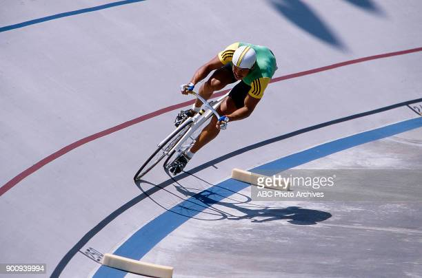 David Weller Men's Track cycling 1 km time trial competition Olympic Velodrome at the 1984 Summer Olympics July 30 1984