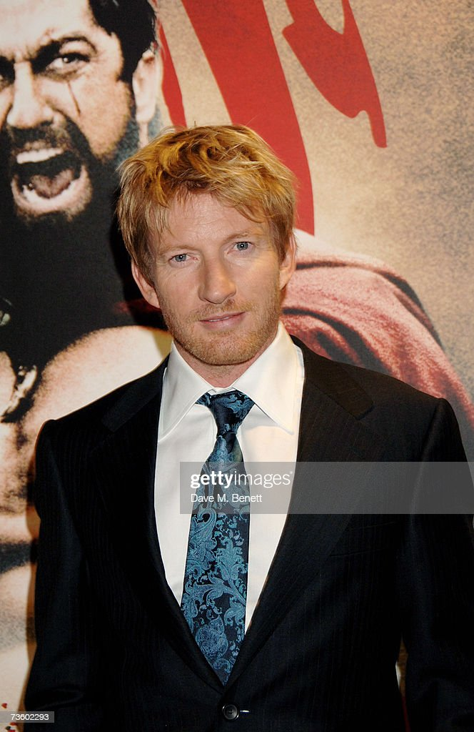 David Wenham arrives at the UK Premiere of '300', at Vue West End on March 15, 2007 in London, England.