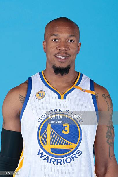 David West of the Golden State Warriors poses for a head shot during the 20162017 Media Day on September 26 2016 at the Warriors practice facility in...