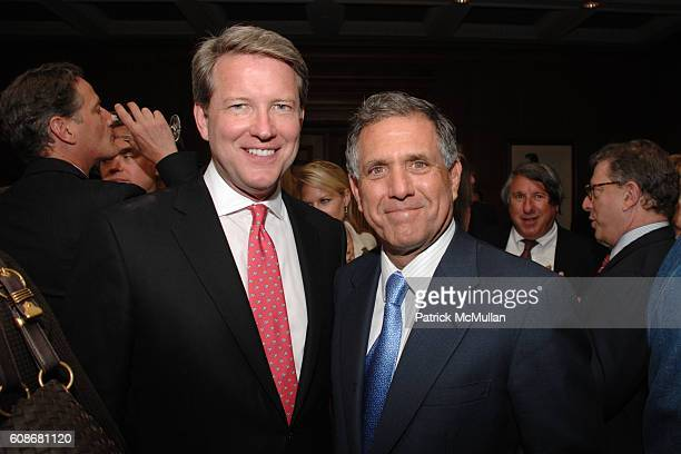 David Weston and Les Moonves attend Book Party for The Diana Chronicles by TINA BROWN at The Sony Club on June 11 2007 in New York City