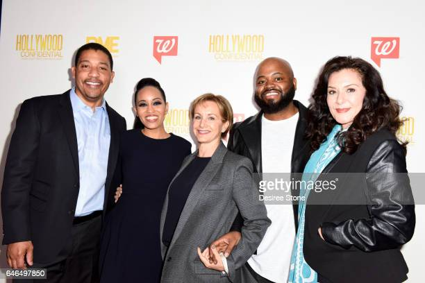 David White DawnLyen Gardner Gabrielle Carteris Steve Jones and Bertila Damas National Chair of SAGAFTRA's Ethnic Employment Opportunity Committee...