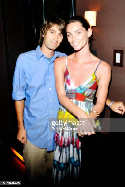 David Whiteside and Annie Henley attend MODELSHOTEL Presents THE ROOM KEY at Thompson Hotel on September 8 2010 in New York City