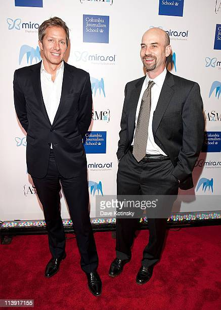 David WIlley and James Bennet attends the 46th annual National Magazine Awards at 583 Park Avenue on May 9 2011 in New York City