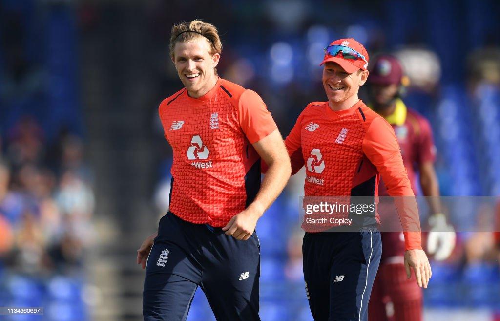 England v West Indies - 3rd Twenty20 International : News Photo