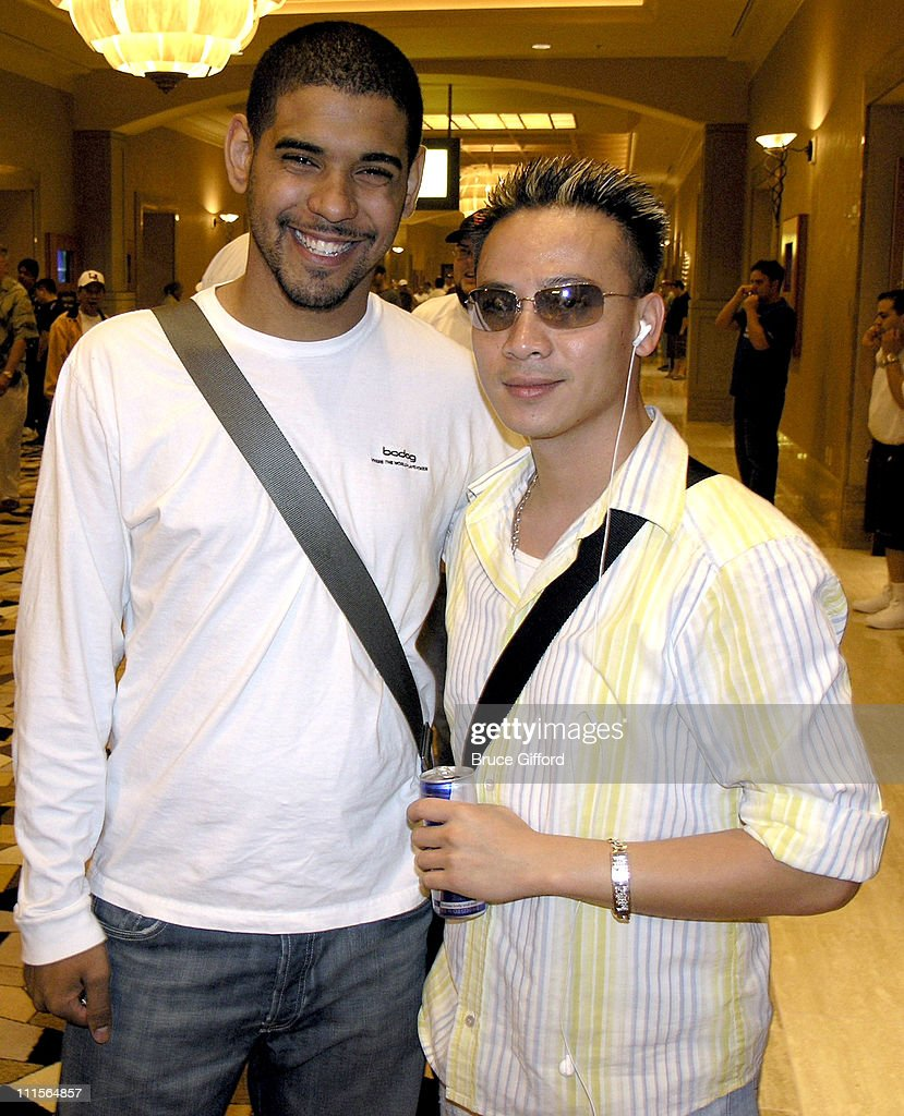 David Williams and John Phan during 36th Annual World Series of Poker - No-Limit Hold'em at Rio Hotel in Las Vegas, Nevada, United States.