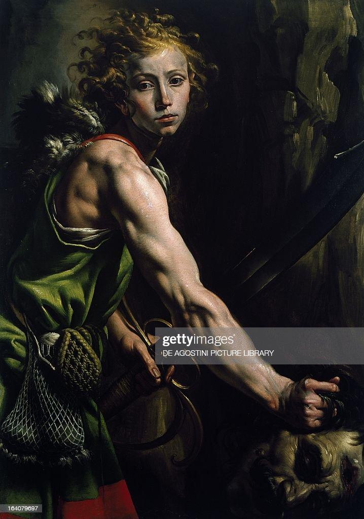 David with the Head of Goliath... : Fotografía de noticias
