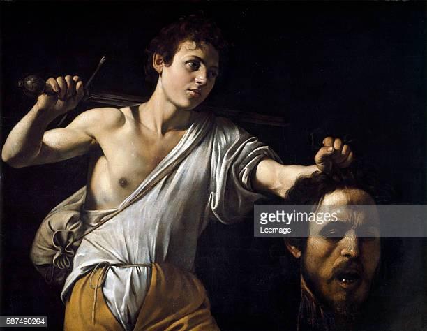 David with the Head of Goliath by Michelangelo Merisi da Caravaggio 905x116 cm Vienna Kunsthistorisches Museum