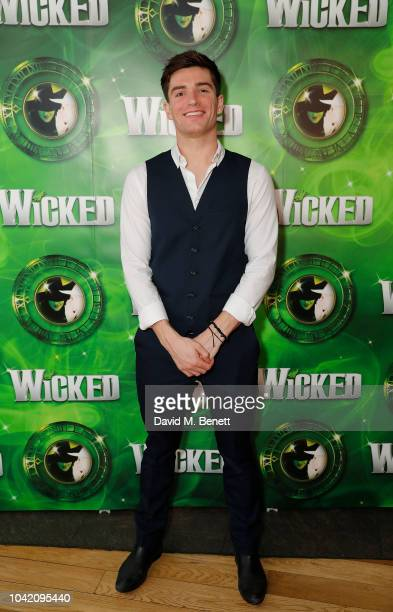 David Witts attends the after-party to celebrate hit musical Wicked's 12 years at London's Apollo Victoria Theatre, on September 27, 2018 in London,...