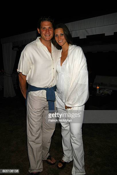 David Wolkoff and Stephanie Winston Wolkoff attend Kevin and Ulla Parker with Carlos and Ana Maria Perez host End of Summer White Celebration Party...