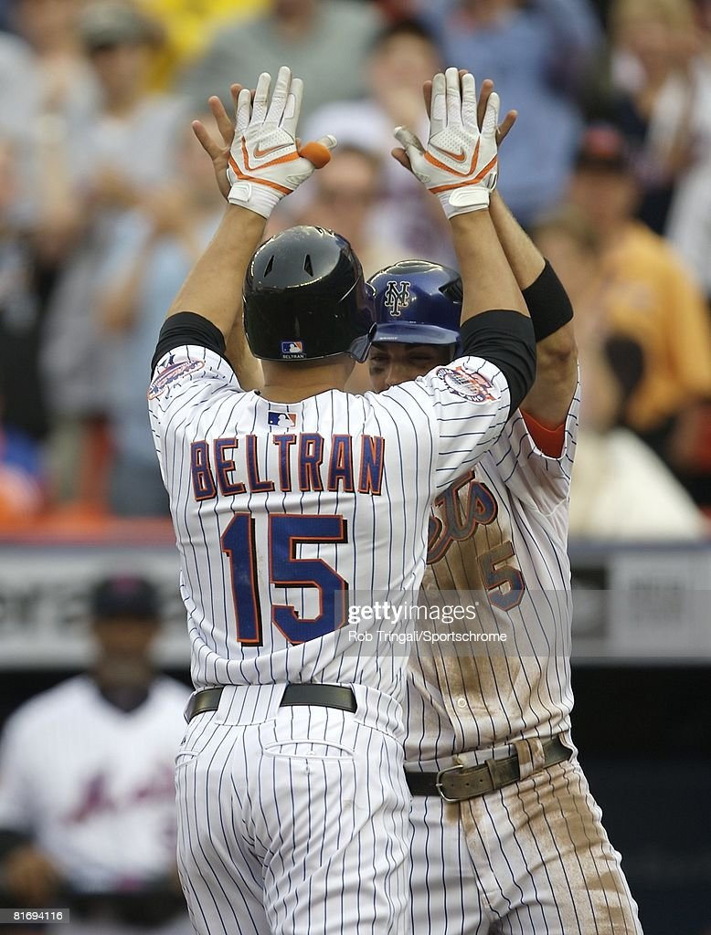 David Wright And Carlos Beltran Of The New York Mets