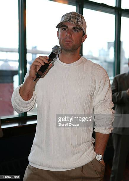 David Wright during David Wright Foundation Charity June 14 2007 at South Street Seaport in New York City New York United States
